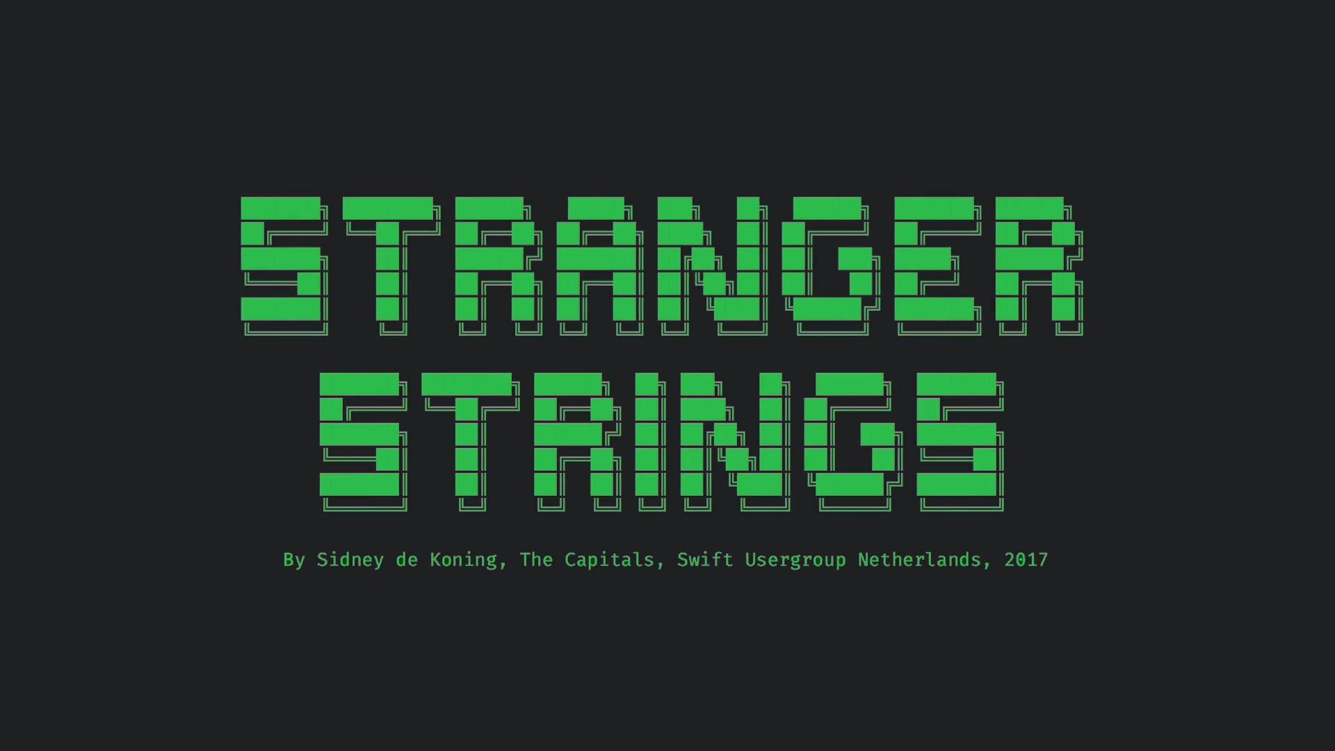 Stanger Strings