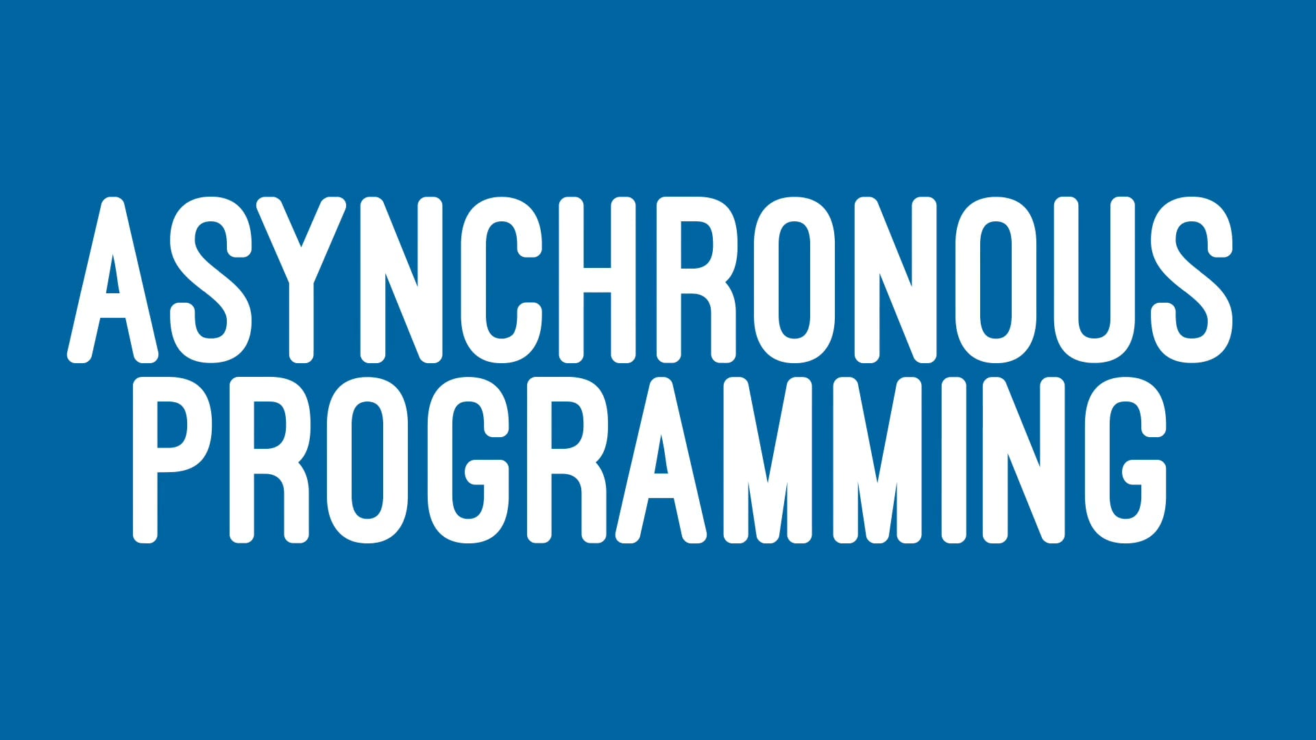 Asynchronous programming in Swift