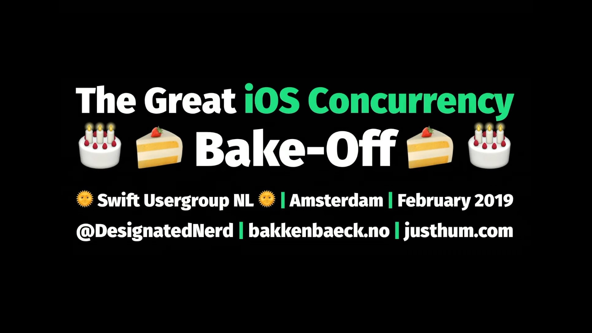 The Great iOS Concurrency Bake-Off
